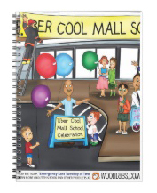 Uber Cool Mall School Notebook
